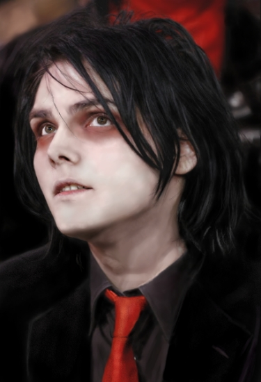 Gerard Way of My Chemical Romance at the Voodoo Music Experience on October  29th, 2006. Credit: Barry Brecheisen/WireImage/Getty
